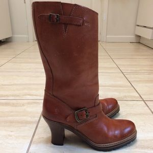 FRYE Mildred Engineer boots